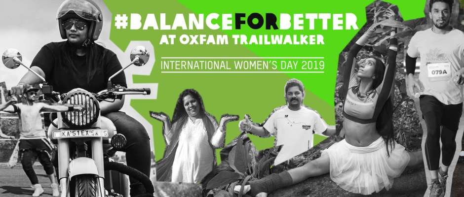 #BalanceForBetter at Oxfam Trailwalker