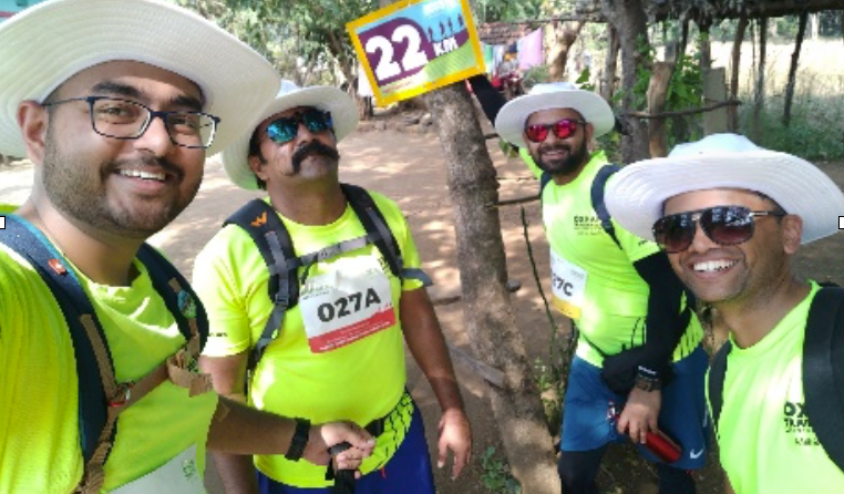 Team Maajhi at 22km